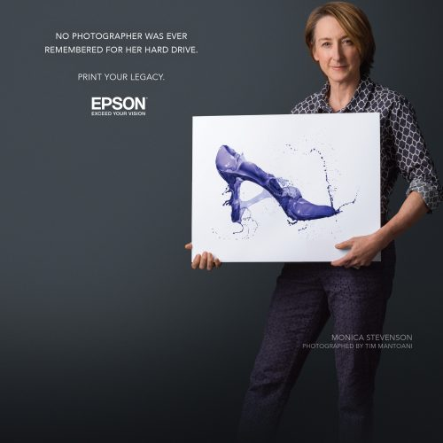 Epson and Monica Stevenson collaborate on creating a legacy….